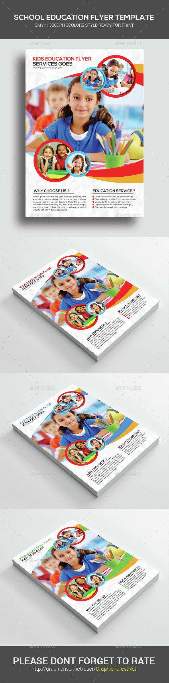 school flyer templates