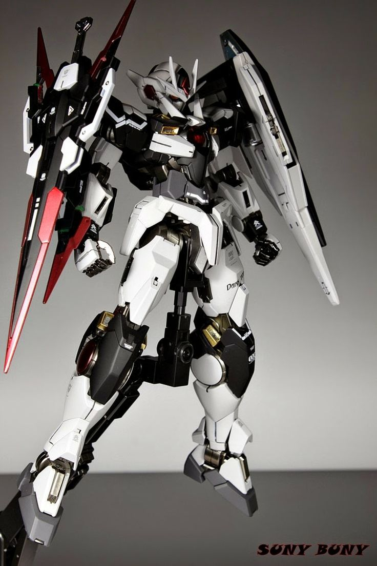 MG 1/100 Destiny Gundam 00 Quanta Custom Build - Gundam Kits Collection News and Reviews