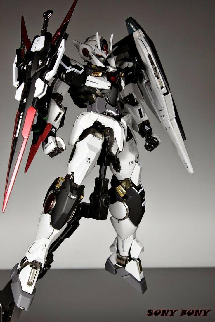 MG 1/100 Destiny Gundam 00 Quanta Custom Build - Gundam Kits Collection News and Reviews