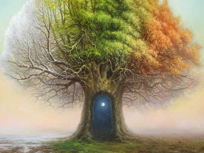 Amazing! Cycle of the year. Tree of Time by Tomasz Alen Kopera. @GrahamFA