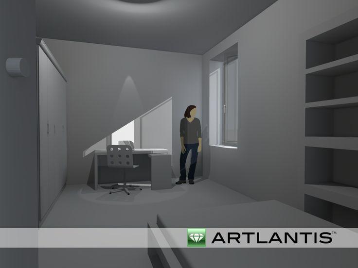 Artlantis vista giorno 1