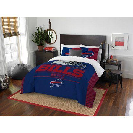 NFL Buffalo Bills Draft Bedding Comforter Set, Blue
