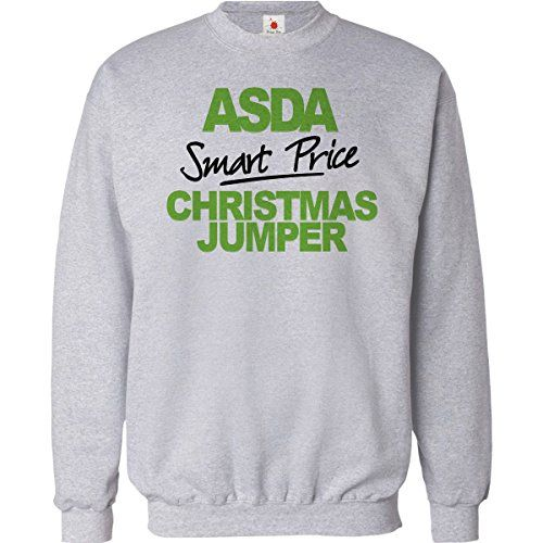 From 11.49 Funny Christmas Jumper Asda Smart Price Unisex Xmas Sweatshirt Mens Chistmas Gift 2016