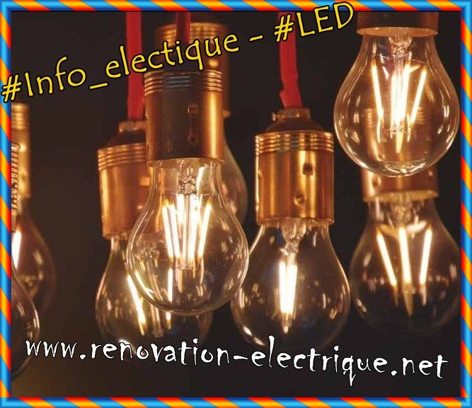 Info Electique Led Renovation Electrique Pieuvre Electrique Diode