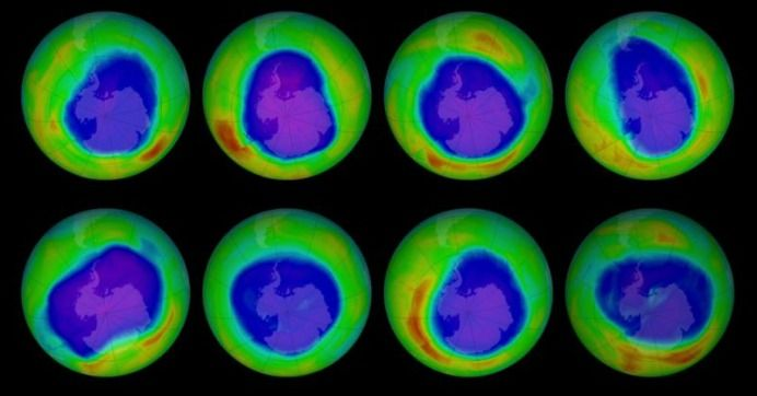 """New Study Showing Ozone Recovery Hailed as Model for Tackling Climate Crisis: """"We see very clearly that chlorine from CFCs is going down in the ozone hole and that less ozone depletion is occurring because of it."""""""