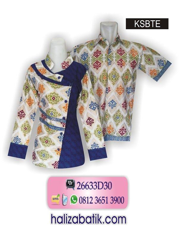 Baju Batik, Desain Baju Batik, Gambar Model Batik  CS TOKO HALIZA BATIK SMS/WA 085706842526 Follow IG halizabatik