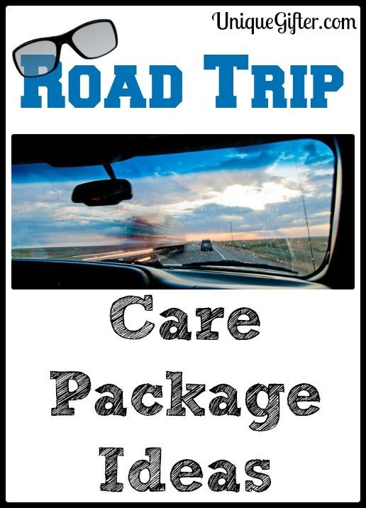 Here is a gigantic list of road trip care package ideas, for those short trips, long trips or cross-country moves! Ideas for adults, families and even for four legged friends. Get car games for kids to keep them entertained!