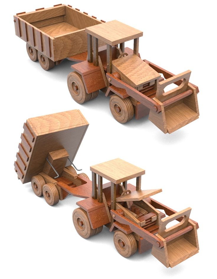 17 best images about wooden semi truck and trailer on for Toy plans