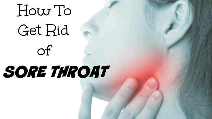 sore throat cold how to get rid