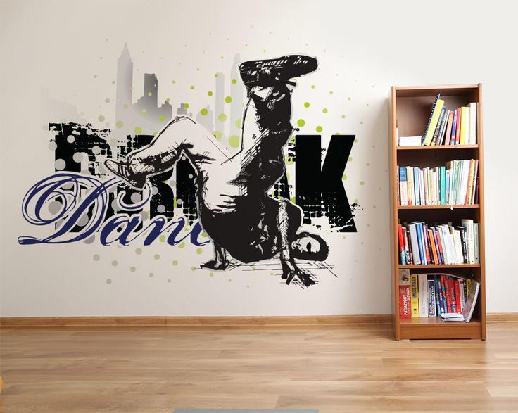 Wallpaper Sticker BREAKDANCE by Sticky!!!