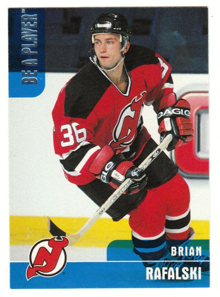 Brian Rafalski RC # 67 - 1999-00 BAP Memorabilia Hockey NHL Rookie