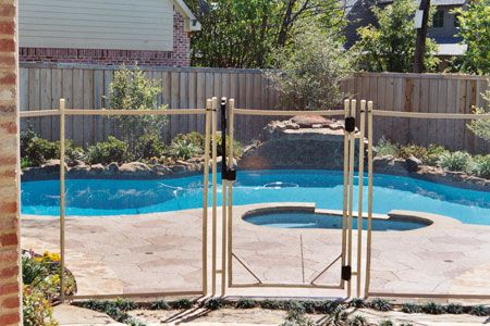 Above Ground Pool Gates Pool Fence With A Locking