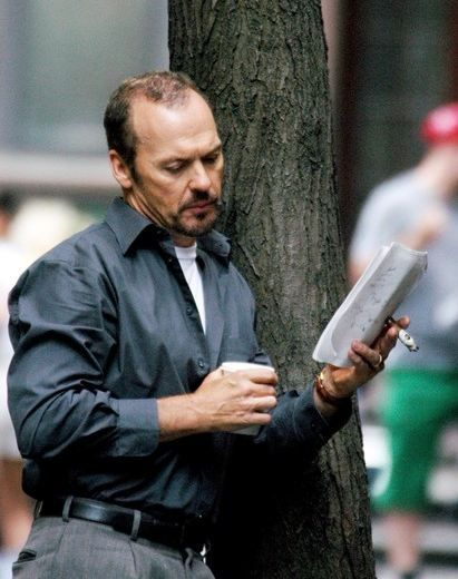 Michael Keaton reads. Not sure what movie this is from.