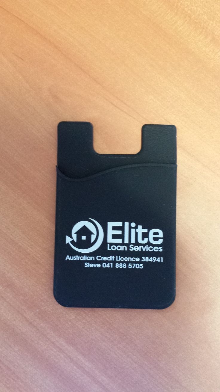 Great way to promote your business is with these nifty mobile phone pockets. They stick to the back of you mobile phone and can hold your business cards. Minimum quantity is 100.