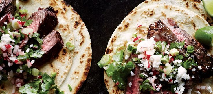 Indian-Spiced Chicken Kebabs with Cilantro-Mint Chutney Recipe | Epicurious.com