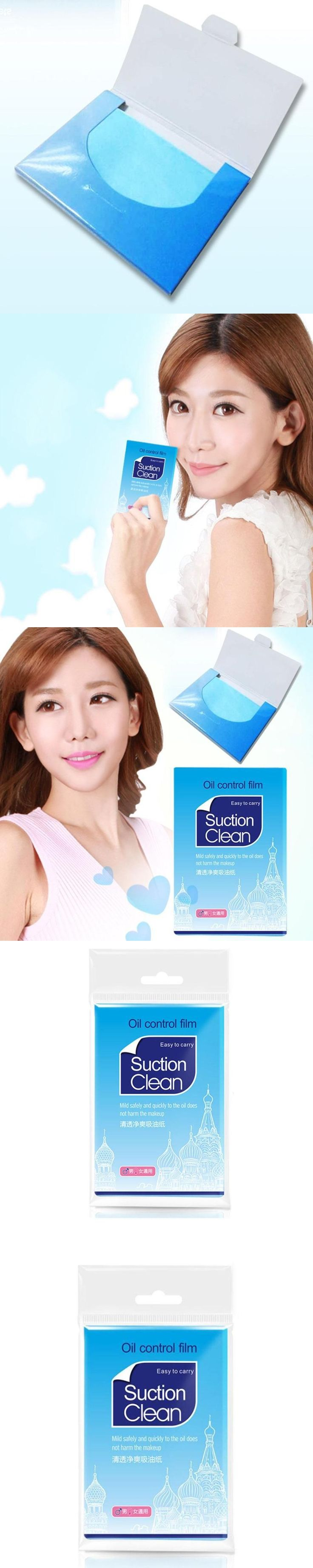 100Pcs/Pack Facial Paper Oil Control Absorption Facial Tissue Makeup Blotting Cleansing Paper RP1-5