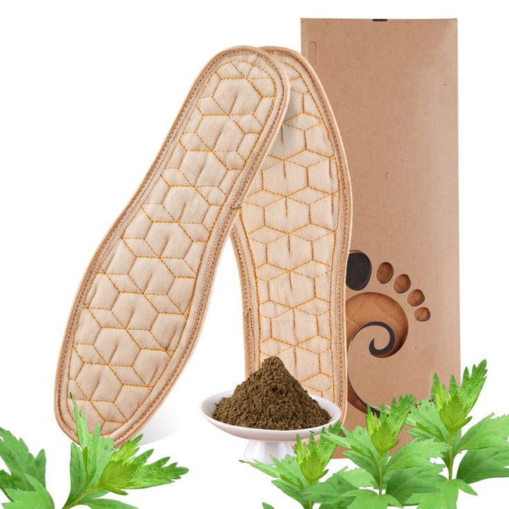 Insoles Health Natural Chinese herbal medicine Breathable Deodorant Absorbent Perspiration Foot Pad Insoles Shoes Accessories