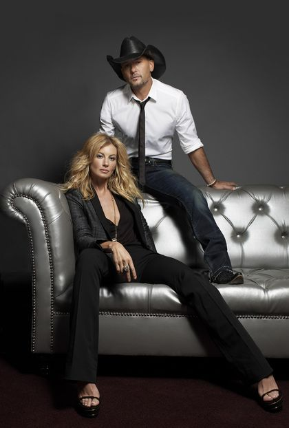 Meet Country Music Power Couple, Faith Hill and Tim McGraw, at their Las Vegas show.
