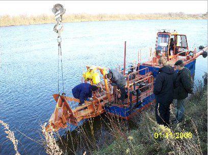 Земснаряд разработки песчаных кареров и оборудование обогащения песка   Николай Бычек