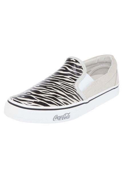 Tenis Coca-Cola Shoes Slip On Preto - Marca Coca Cola Shoes
