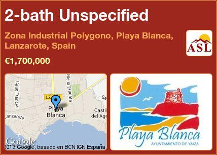 2-bath Unspecified in Zona Industrial Polygono, Playa Blanca, Lanzarote, Spain ►€1,700,000 #PropertyForSaleInSpain