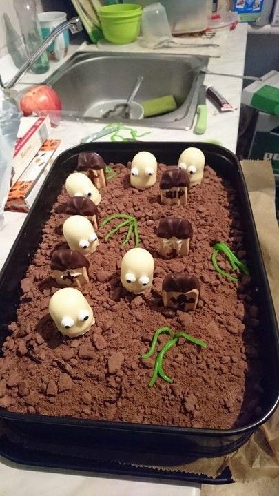 Halloween Zombiegrab-Kuchen – Mariana Magar