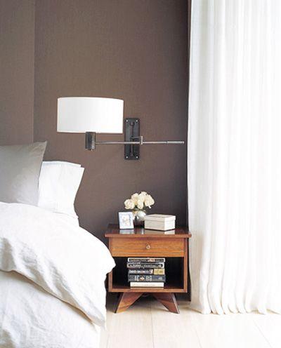dark+taupe+wall+bedroom