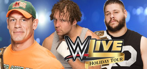 Dunkin' Donuts Center :: WWE VIP EXPERIENCE presents WWE LIVE HOLIDAY TOUR!