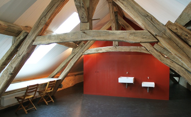 Holiday home, Burgundy (France), atelier, www.8aa.nl