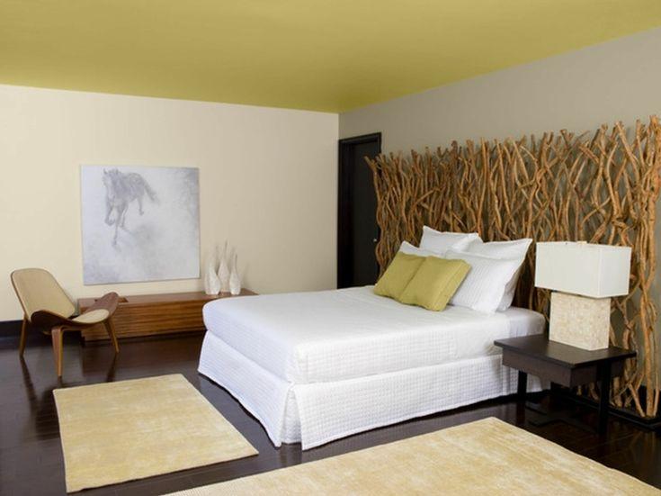 chambre zen décorée avec du bambou