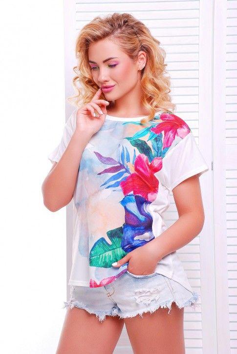 #широкая #футболка
