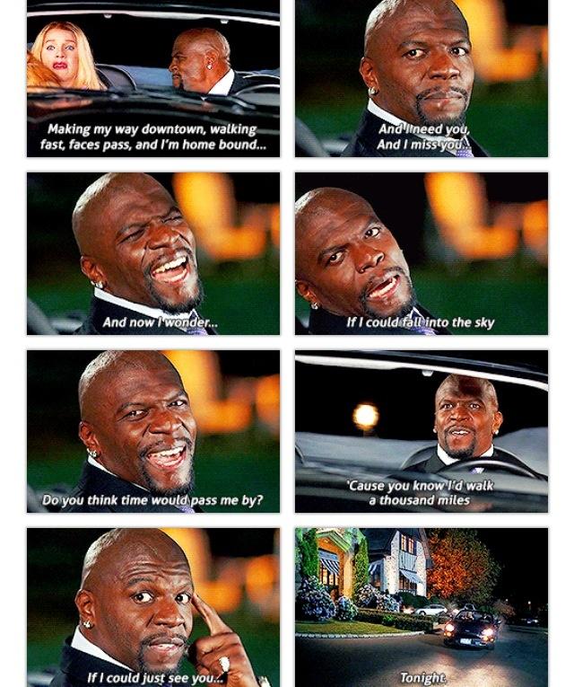 White Chicks (: I think og this scene everytime I hear this song - LOL!
