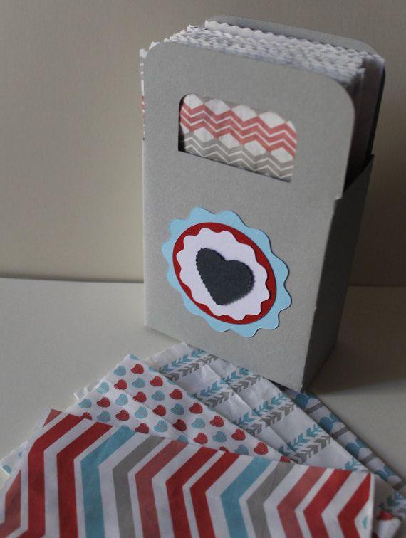Set di 50 kraft paper bags con scatola espositore / di PickaPack