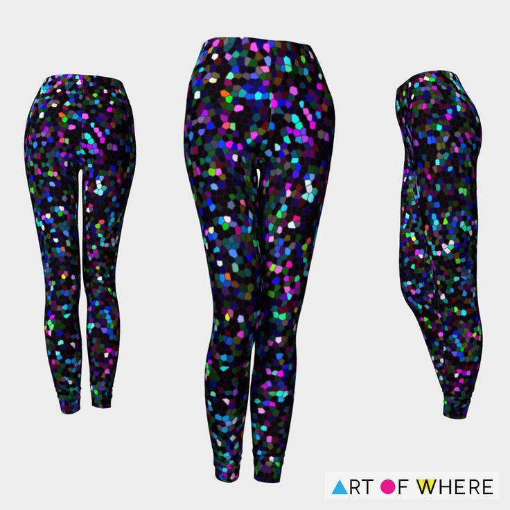 https://artofwhere.com/artists/medusa81 SOLD Leggings Mosaic Sparkley Texture G2!   https://artofwhere.com/artists/medusa81/clothing/leggings/13817 #artofwhere #Leggings #clothing #fashion #trend #mosaic #graphic #sparkly #glitter #texture