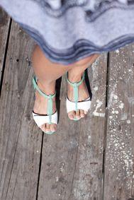 Flamingo sandals by Ziera
