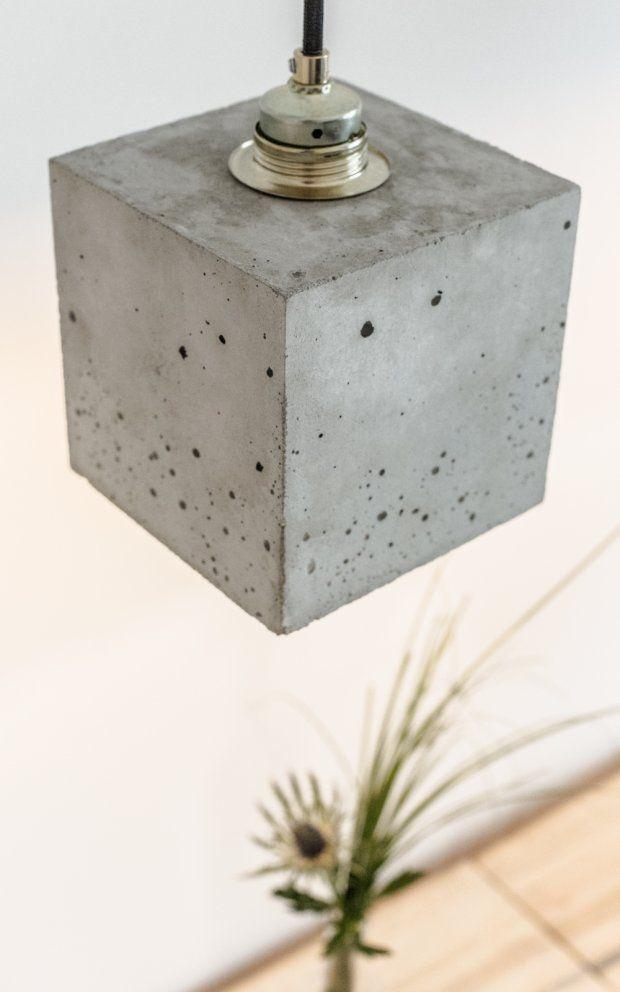 Beton Lampe Hängelampe Design Leuchte [B1] GANT By Stefan Gant - GANT lights, on Designeros.com $200.00 #designeros