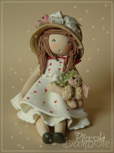 Doll polymer clay - porcelana fria