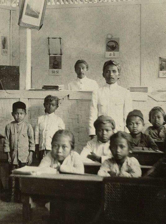 Java school. 1920.