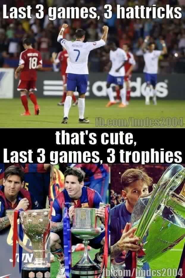 That's legit, no one can beat Messi