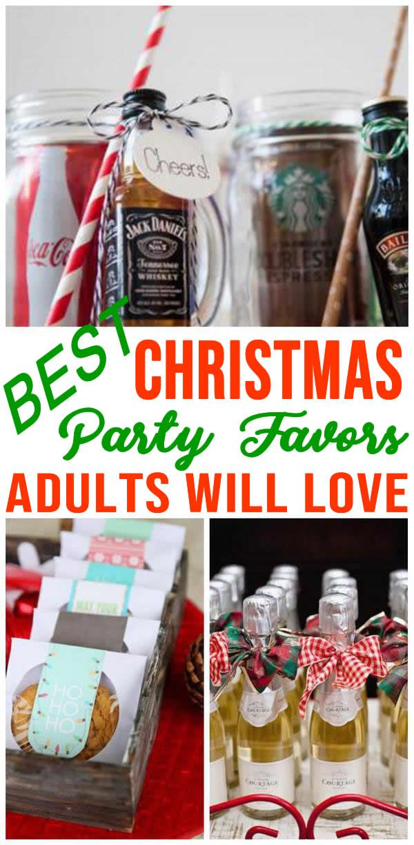 Christmas Party Favors For Adults Christmas party favors