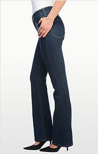 """Not Your Daughter's Jeans:  classic bootcut"