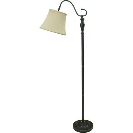 better homes and gardens downbridge floor lamp bronze reading nook in bedroom