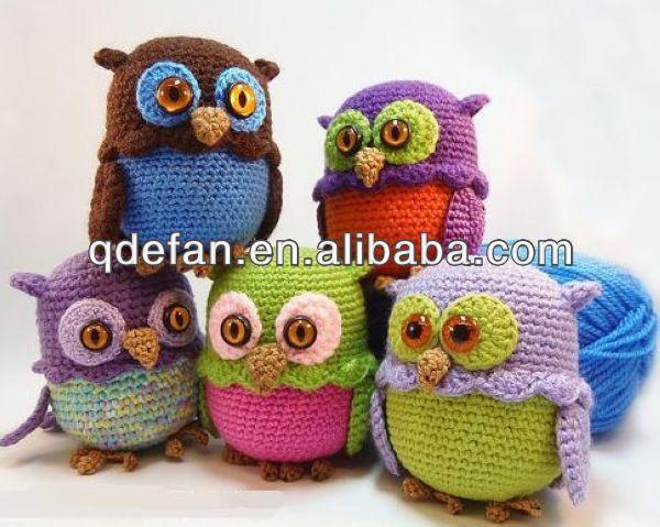 ingrosso moda gufo a mano giocattolo uncinetto animale bambole-immagine-Baby cappuccio-Id prodotto:1801327428-italian.alibaba.com