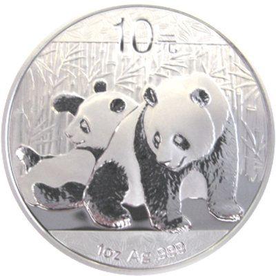 China Panda Silbermünzen zu aktuellem Silber Preis kaufen