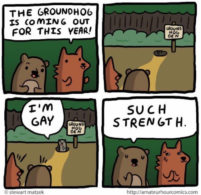 Happy Groundhog Day - 9GAG