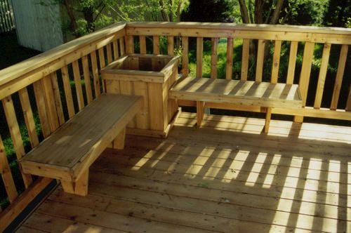 Deck Railing Planters Menards Woodworking Projects Amp Plans