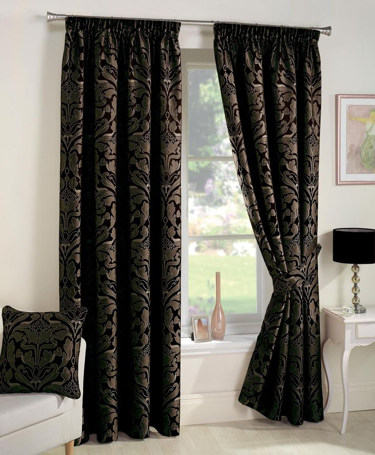 Best of Buy Curtina Crompton Black Lined Curtains Inches from our Pencil Pleat Curtains range at Tesco direct We stock a great range of products at everyday Model - Inspirational curtains direct Model
