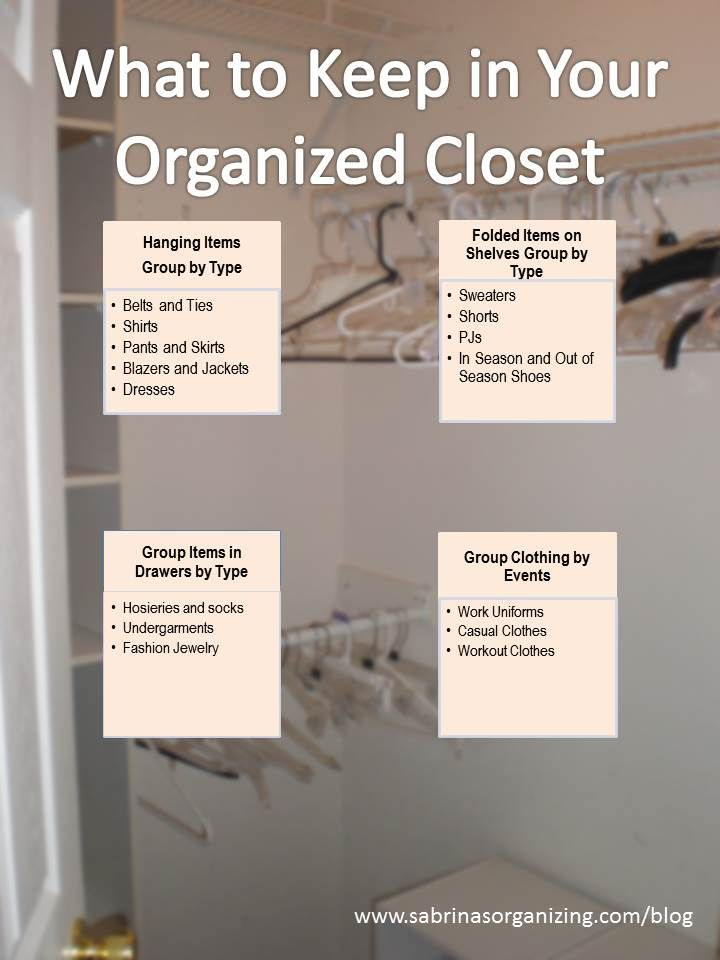 17 best images about organize it closets clothes on pinterest closet organization purse - Keep your stuff organized with bedroom closet organizers ...