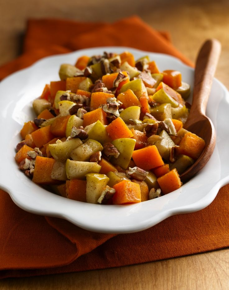 Combine classic fall ingredients--squash, nuts, Granny Smith apples ...