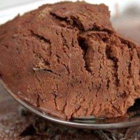 Házi készítésű csokoládéfagylalt